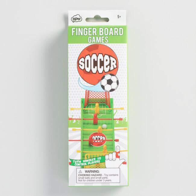 Portable Fingerboard Soccer Game