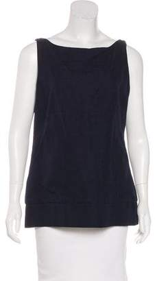 Agnona Woven Sleeveless Top w/ Tags