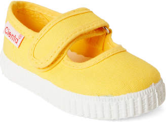 c9e45ff850 Cienta Toddler Kids Girls) Yellow Canvas Mary Jane Shoes