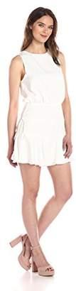 Finders Keepers findersKEEPERS Women's Stevie Blouson Open Back Mini Dress