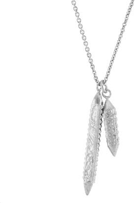 Siva Annabelle Lucilla Jewellery Indra & Lotus Bud Colonette Pendant Silver