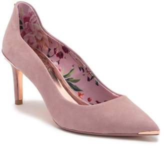 Ted Baker Vixyn Suede Pointed Toe Stiletto Heel