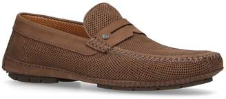 Stemar Perforated Penny Driver Shoes
