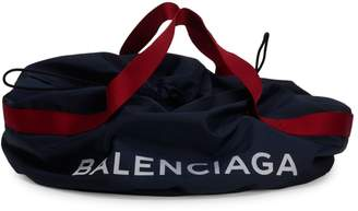 Balenciaga Small Wheel Logo Weekender Bag