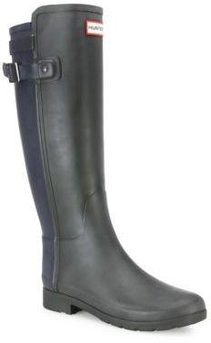 Hunter Original Two-Tone Rain Boots $195 thestylecure.com