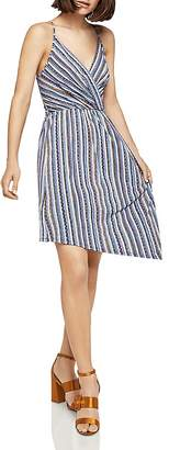 BCBGeneration Striped Asymmetric Dress