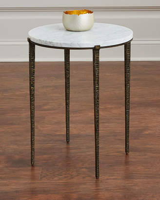Interlude Home Serra Marble-Top Side Table