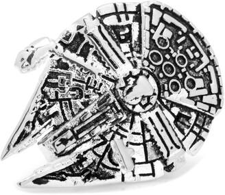 "Cufflinks Inc. Cufflinks, Inc. Star Wars"" 3D Millennium Falcon Lapel Pin"