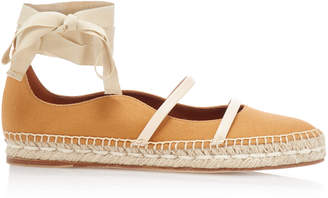 Malone Souliers Selina Espadrille Canvas Flats