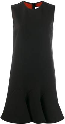 Victoria Beckham peplum hem shift dress