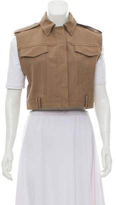 Alexander Wang Cargo Cropped Vest w/ Tags