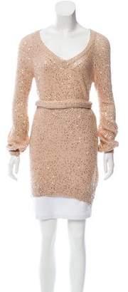 Stella McCartney Sequin-Embellished Sweater Tunic