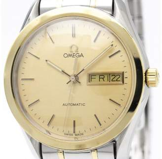 Omega Classic 166.0299 Automatic 18K Yellow Gold & Stainless Steel 35mm Mens Sports Watch