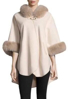 Fox Fur Cashmere Coat