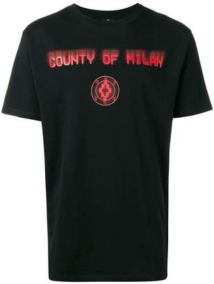 Marcelo Burlon County of Milan round neck graphic T-shirt