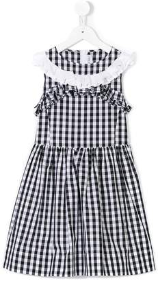 Simonetta checked dress