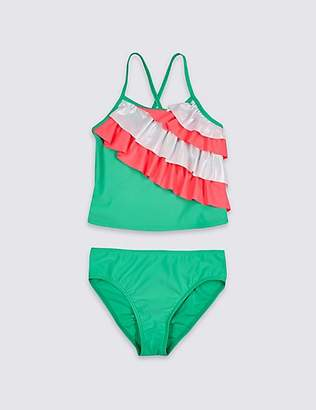 Marks and Spencer Tankini Set with Sun Safe UPF50+ (3-16 Years)