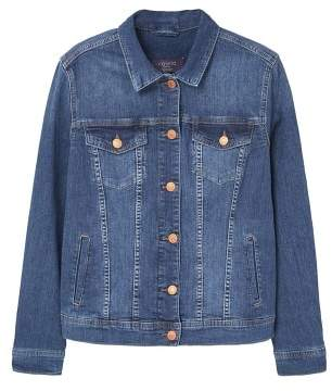Violeta BY MANGO Dark denim jacket