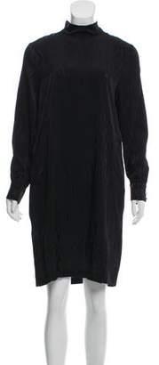 Byblos Silk-Blend Knee-Length Dress w/ Tags