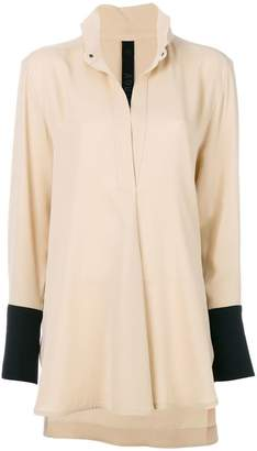 Petar Petrov high low blouse