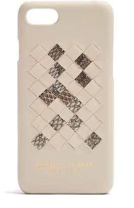 Bottega Veneta Intrecciato leather iPhone® 7 case