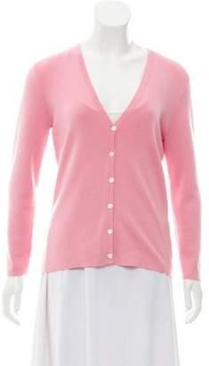Michael Kors Rib Knit Cardigan Sweater