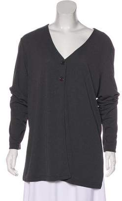 Diane von Furstenberg Long Sleeve Knit Blouse