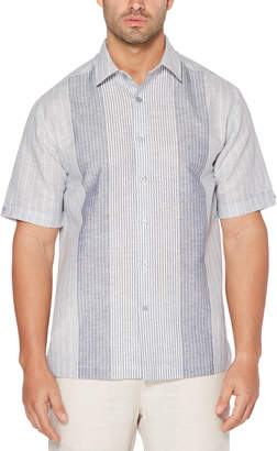 Cubavera Subtle Stripe Panel Shirt