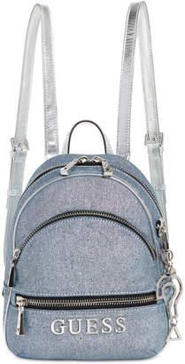 GUESS Manhattan Small Denim Backpack