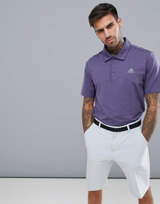 adidas Ultimate 365 Polo Shirt In Purple CY5400