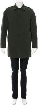 Marni Fur-Paneled Car Coat