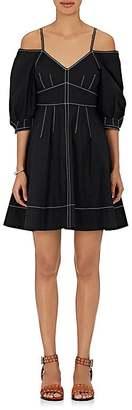 Derek Lam 10 Crosby Women's Cotton Poplin Off-The-Shoulder Dress $325 thestylecure.com