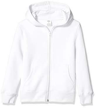 Amazon Essentials Boy's Fleece Zip-up Hoodie