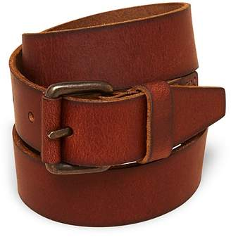 Bloomingdale's Boys' Leather Belt, Little Kid, Big Kid - 100% Exclusive
