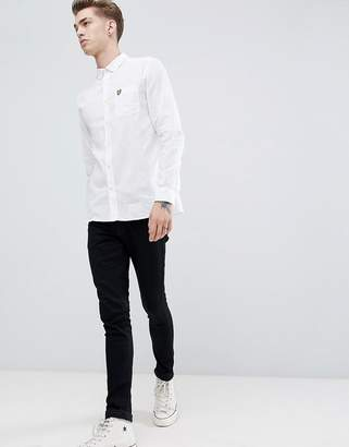 Lyle & Scott cotton linen shirt