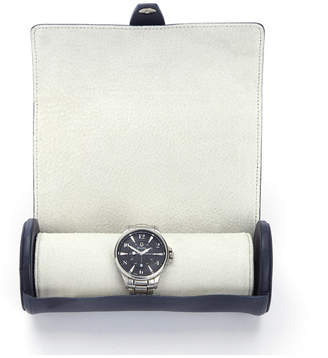 Royce New York Suede Lined Travel Watch Roll