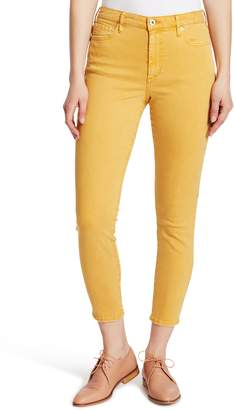 Ella Moss High Waist Ankle Skinny Jeans