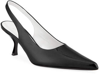 The Row Patent Bourgeoisie Slingback Pump