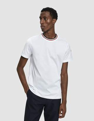 Moncler S/S Crewneck T-Shirt in White