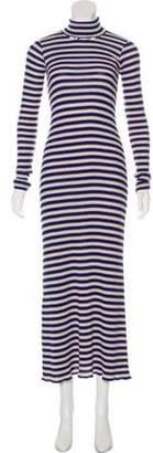 Giada Forte Sweater Maxi Dress Tan Sweater Maxi Dress