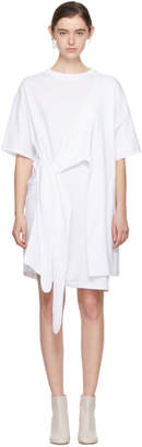 Acne Studios White Lylia T-Shirt Dress