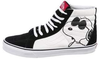 Vans Suede-Accented Snoopy Sneakers