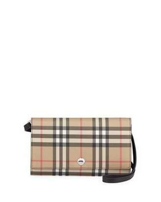 Burberry Hannah Vintage Check Crossbody Bag