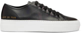 Common Projects Woman by Black and White Tournament Low Super Sneakers