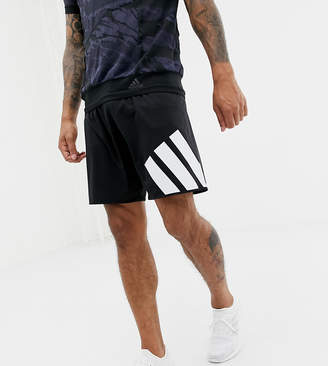 adidas tango football shorts in black