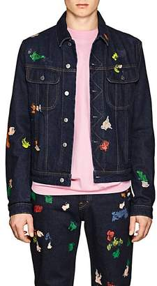 Acne Studios Men's Tent Gum Denim Jacket - Blue