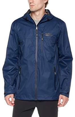 Outdoor Ventures Men's Lake Packable Breathable Waterproof Rain Jacket