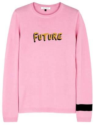 Bella Freud Future Pink Wool Jumper