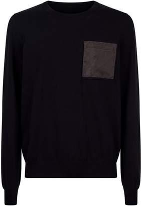 Maison Margiela Mesh Pocket Sweater