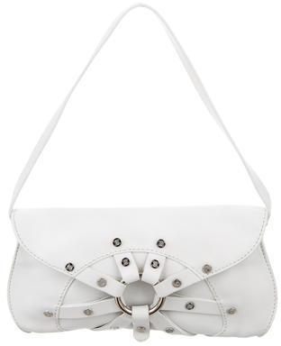 CelineCéline Logo Studded Leather Bag